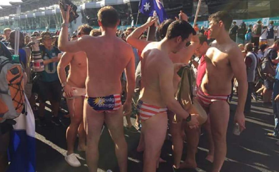 Полиция арестовала австралийских болельщиков после гонки