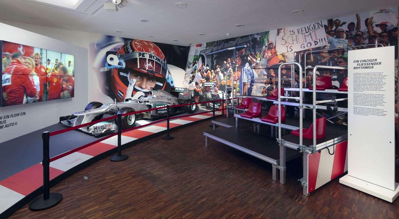 Коллекцию авто Шумахера впервый раз покажут широкой публике