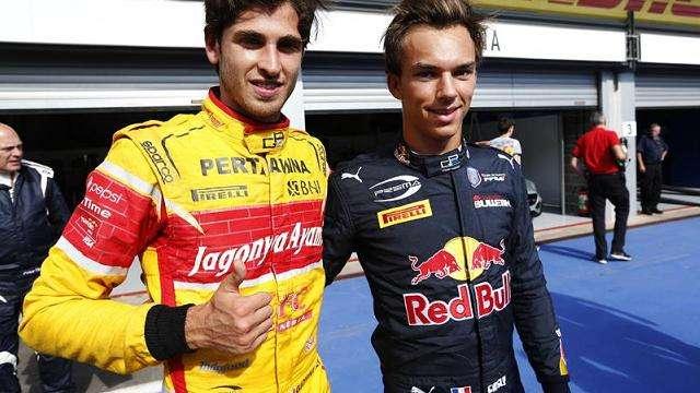 Пьер Гасли— чемпион GP2